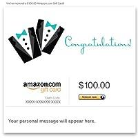 Amazon Gift Card - E-mail - Wedding (Two Tuxes)