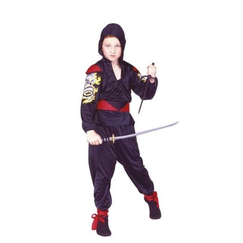 Ninja Dragon Mast Red, Child Medium Costume