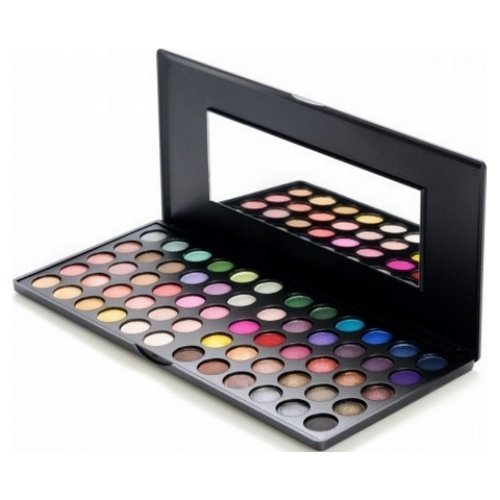 bh cosmetics 60 color eye shadow palette day and night 137oz by - Coloration 60