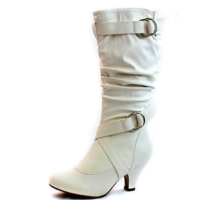 kitten heel short boots