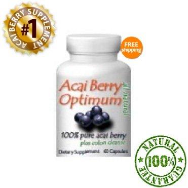 Acai Berry Optimum -- Best All-Natural Weight Loss Supplement. Better Than Fruta Planta, and Better Than 2 Day Diet