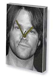 JARED PADALECKI - Canvas Clock (LARGE A3 - Signed by the Artist) #js003