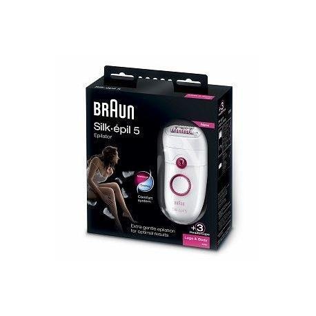 Braun Silk-épil 5 5280 Legs & Body Epilierer, Premium Pack