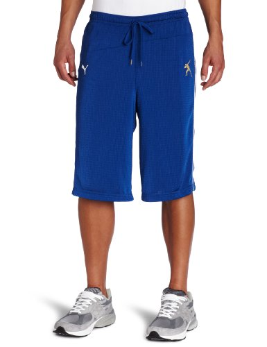 PUMA Long Running Dazzle Short, Limoges, Large