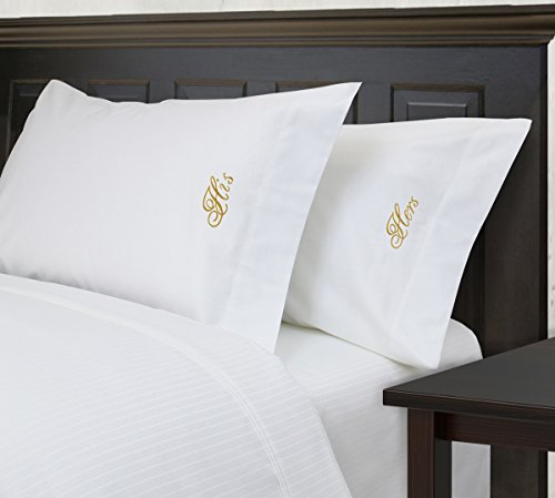 luxor-linens-marseille-egyptian-cotton-his-hers-embroidered-pillowcase-set-king-gold