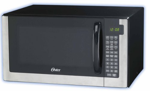 Oster OGG61403-B 1.4-Cubic Foot Digital Microwave Oven, Stainless Steel