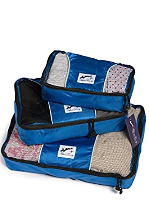 Fishers Finery Travel Packing Cubes
