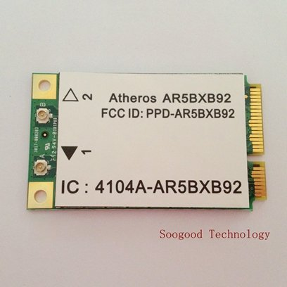 Atheros Ar9280 Ar5Bxb92 Wirless Mini Pci-E Wlan Card 2.4Ghz & 5Ghz 802.11A/B/G/N 300M