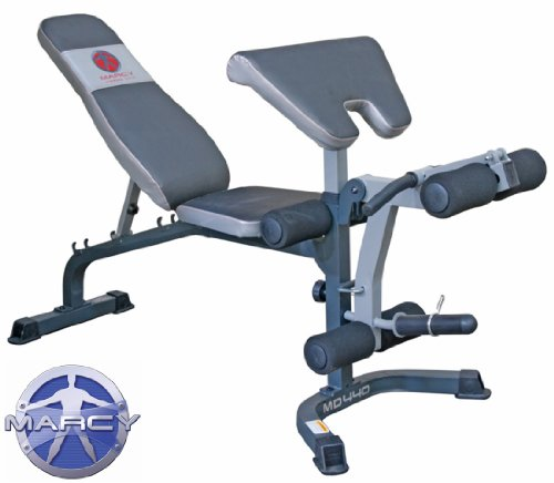 Marcy MD440 Weight Bench With Preacher Pad  &  Leg Developer