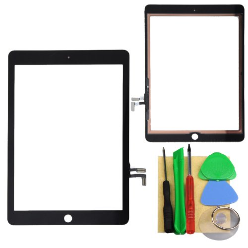 Black Touch Screen Digitizer Panel For Ipad Air 5Th +Tools
