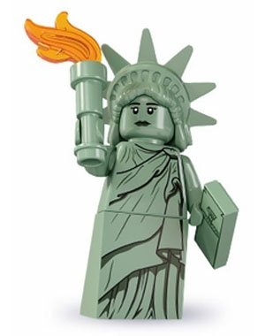 Lego Minifigures Series 6 - Lady Liberty