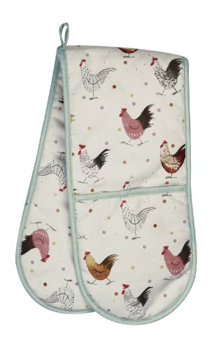 Alex Clark Rooster Double Oven Glove alex clark rooster double oven glove