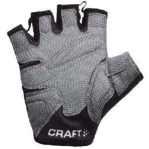 Buy Low Price Craft 2008 Men's Performance Cycling Gloves – Black/Grey (M) (B001NODX0G)