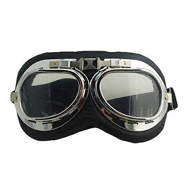 ZMW-Coupe-vent-en-cuir-Ski-Goggle