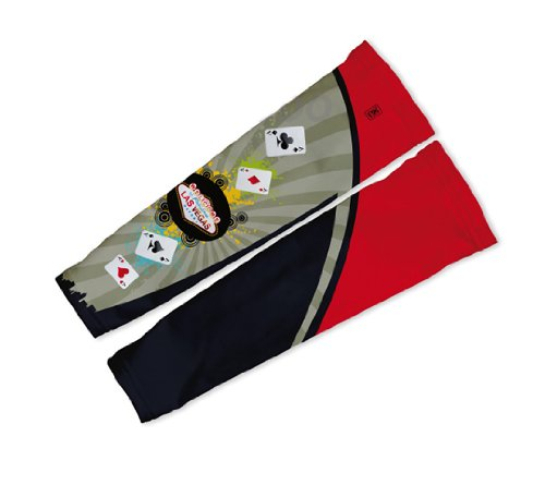 Image of Las Vegas Fever Arm Warmers Sleeves Unisex Walking/Cycling/Running (01-AWS-107-PM)