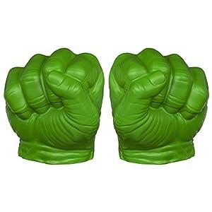 Avengers Marvel Assemble Hulk Gamma Green Smash Fists Set