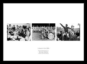 Framed Liverpool Fc In The 1960s Triple Photo Memorabilia