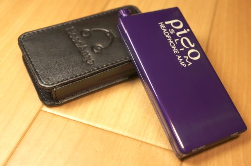 Headamp Pico Slim Usb Chargable Portable Headphone Amp Purple