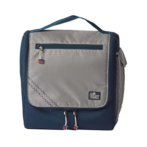 sailorbags-silver-spinnaker-insulated-lunch-box-silver-with-blue-trim