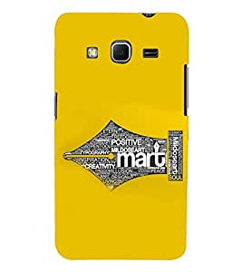 PRINTSWAG TYPOGRAPHY Designer Back Cover Case for SAMSUNG GALAXY CORE PRIME G360