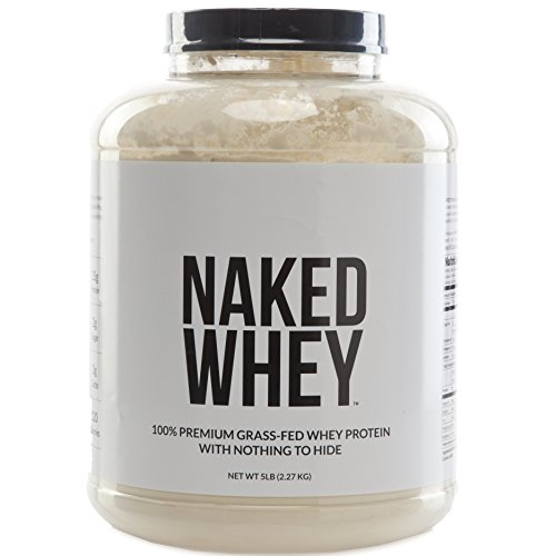 NAKED WHEY - #1 Undenatured 100% Grass Fed Whey Protein Powder from California Farms