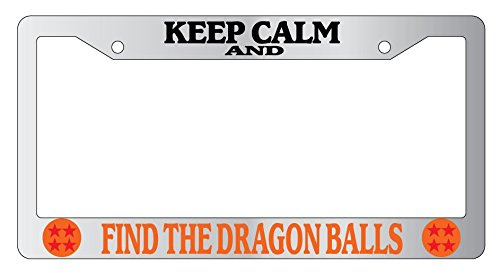 Keep Calm And Find The Dragon Balls High Quality Chrome Metal ...