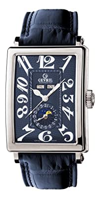 Gevril Men's 5034 Avenue of Americas Automatic Moon Phase Watch