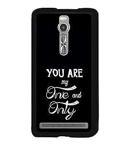 Love Quote 2D Hard Polycarbonate Designer Back Case Cover for Asus Zenfone 2 ZE551ML