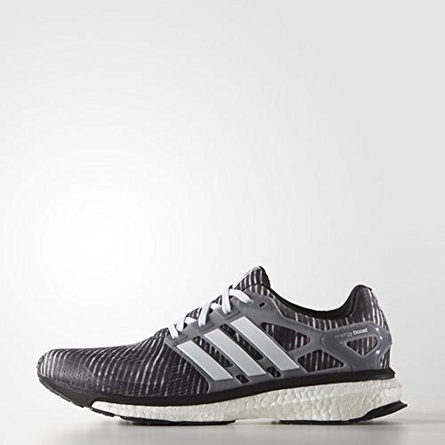 Adidas Energy Boost 2 M Running Shoe - Black / grey - Mens - 9 (Mens Energy Boost compare prices)