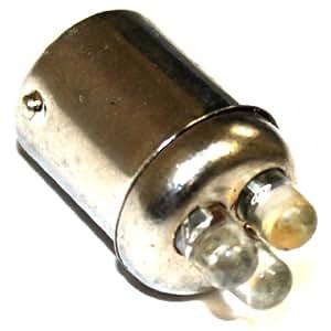 Aerzetix 3800946212706 Ampoule P21W ou R5W 12 V Lumière Rouge 3 LED
