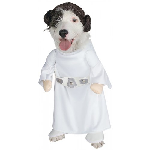 Princess Leia Star Wars Pet Dog Size Large Costume New