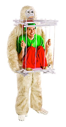 HouseHaunters Abominable Snowman and Ice Cage Costume Kit