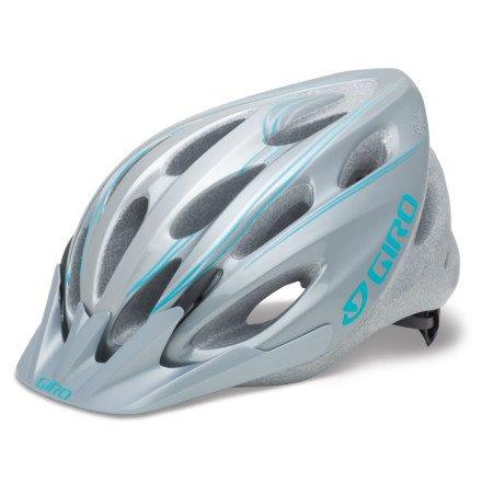 Giro Skyla Helmet - Women's Titanium/Turquoise Simple Lines, One Size