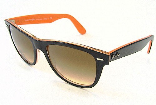 ray ban wayfarer red and black. RAY BAN RB 2140 Sunglasses