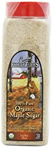 Coombs Family Farms 100% Organic Maple Sugar, 1 lb 9 Ounce, Container