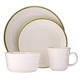 Diner 16-pc. Dinnerware Set - Celery : Target from target.com