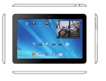 BWC RazerThin , 10.1 pouces Widescreen écran HD Tablet Computer fonctionnant sous Android 4.1.1 Jelly Bean avec un corps en aluminium , 1.6Ghz Dual Core 1 Go de RAM et 16 Go de construit dans le stockage .