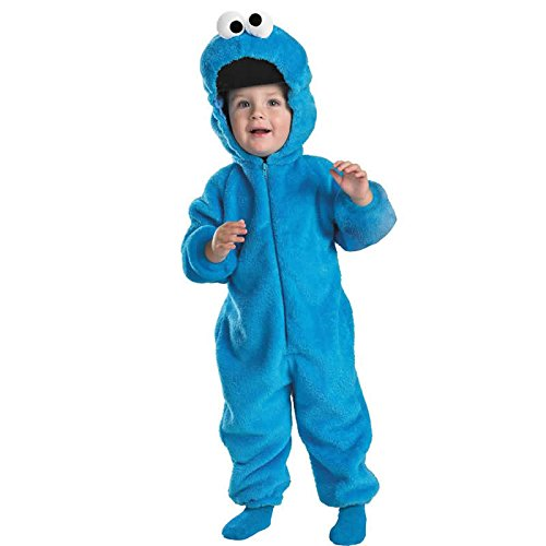 Cookie Monster Deluxe Plush Toddler Costume