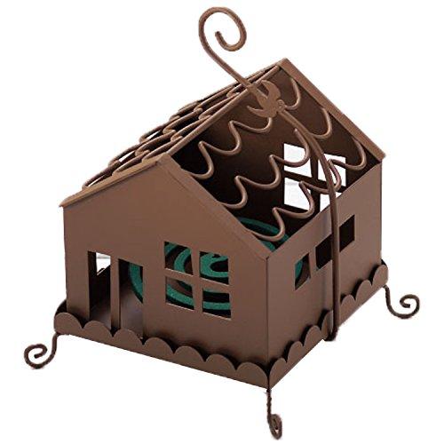 ドゥームー アイアンの家の形が かわいい 蚊遣り  ハウス ブラウン 400594902