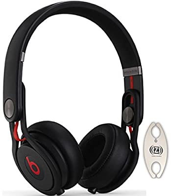 Beats by Dr. Dre Mixr Black DJ Headphones Carry Pack with Wire Holder