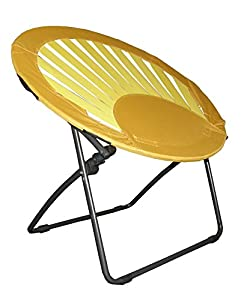 Bungee chair furniture dorm folding round yellow kitchen amp dining
