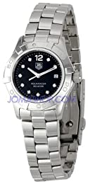 TAG Heuer Women s WAF141C BA0824 Aquaracer Diamond Watch