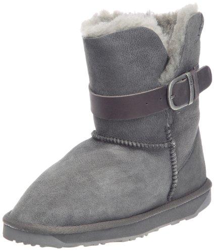 Emu Australia Women's Angels Lo Charcoal Pull On Boots W10086 7 UK, 40/41 EU, 9 US