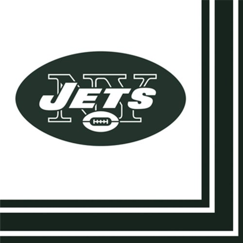 NFL New York Jets Lunch Napkins [Toy]