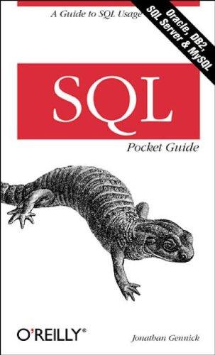 SQL Pocket Guide (Pocket Reference)