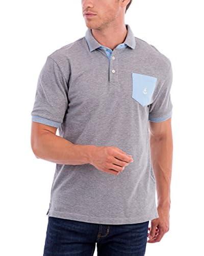 BLUE COAST YACHTING Poloshirt grau