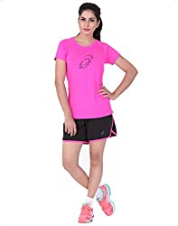 Asics Women's Slim Fit Graphic Top - L