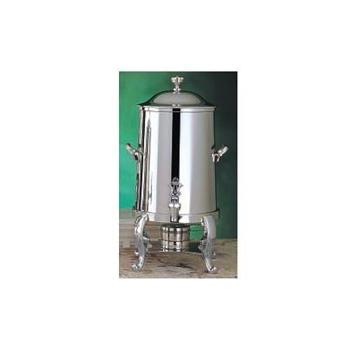 Bon Chef 49105C 5.5-Gallon Coffee Urn Server, Solid Fuel, Chrome, Roman, Each