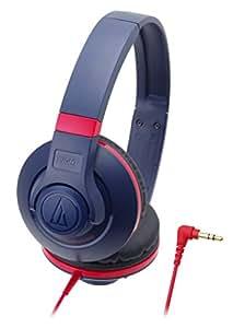 audio-technica STREET MONITORING 密閉型オンイヤーヘッドホン ポータブル ネイビー ATH-S300 NV