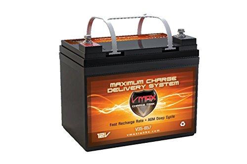 Vmax857 Agm Battery 12 Volt 35ah Marine Deep Cycle Hi